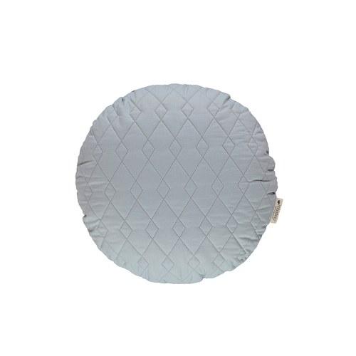 西班牙Nobodinoz有機棉 圓形舒眠靠枕 (海濱藍)
