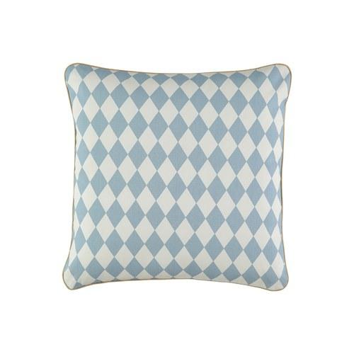 西班牙Nobodinoz 安撫舒眠抱枕 (幾何方塊藍)