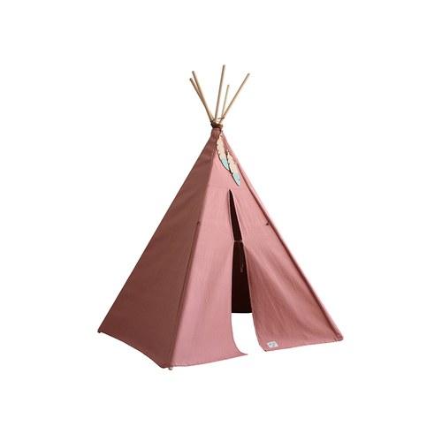 西班牙Nobodinoz 印第安帳篷兒童遊戲屋 (甜蜜粉)