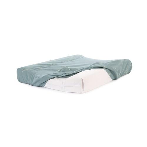 西班牙Nobodinoz有機棉 寶寶防水尿布更衣墊 (綠色營地探險)