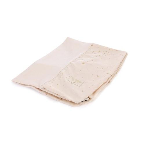 西班牙Nobodinoz有機棉 寶寶防水尿布更衣墊 (夢幻粉煙火)