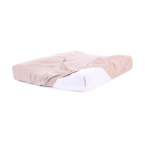 西班牙Nobodinoz有機棉 寶寶防水尿布更衣墊 (迷霧粉泡泡)