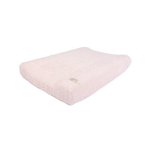 西班牙Nobodinoz有機棉 寶寶防水尿布更衣墊 (嫩粉)