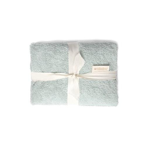 西班牙Nobodinoz有機棉 寶寶防水尿布更衣墊 (嫩綠)