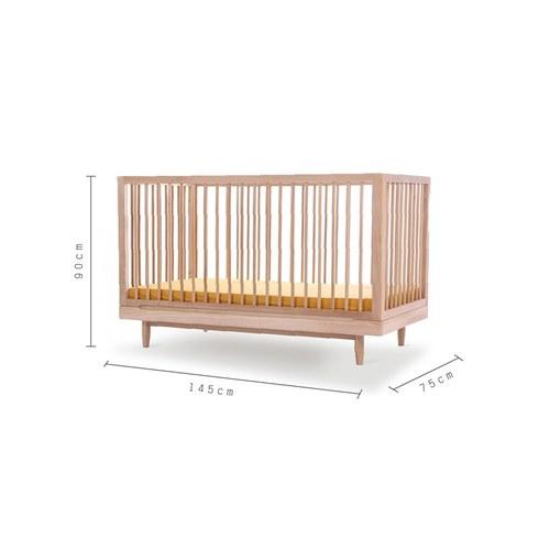 西班牙Nobodinoz 原木嬰兒床(成長床)