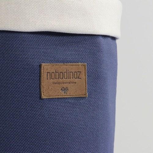 西班牙Nobodinoz 收納置物籃(中、愛琴海藍)