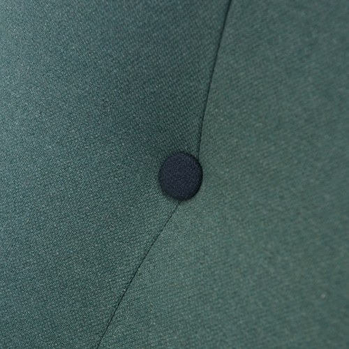 波蘭Sits Pola深藍色鈕扣單人沙發 (綠松石)