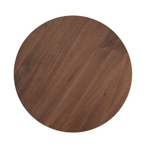 波蘭Sits 收納款核桃木圓桌 (直徑40公分)