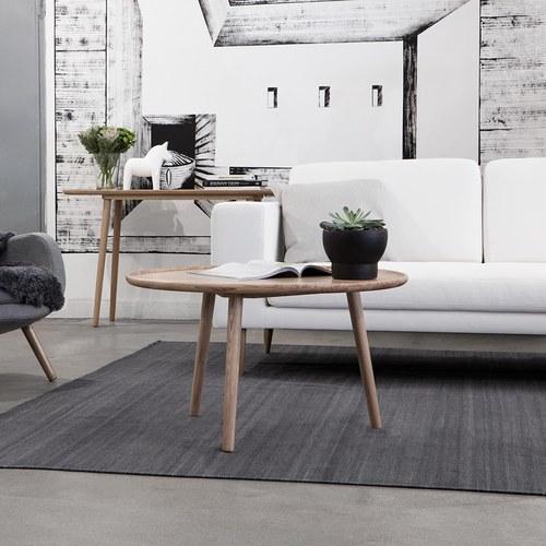 波蘭Sits 橡木長方形邊桌