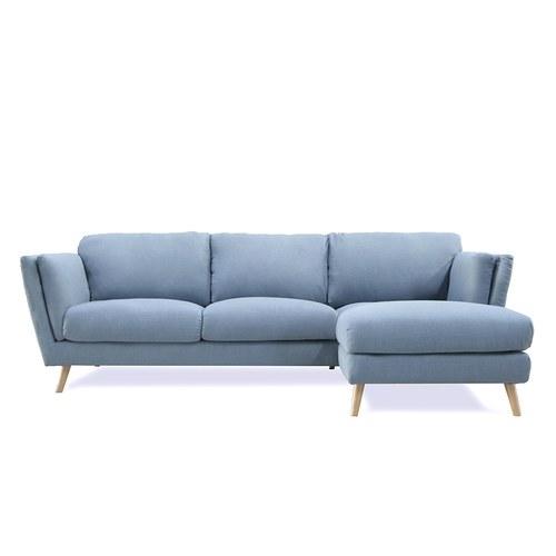 波蘭Sits Nova北歐感生活右向L型沙發 (藍、寬248公分)
