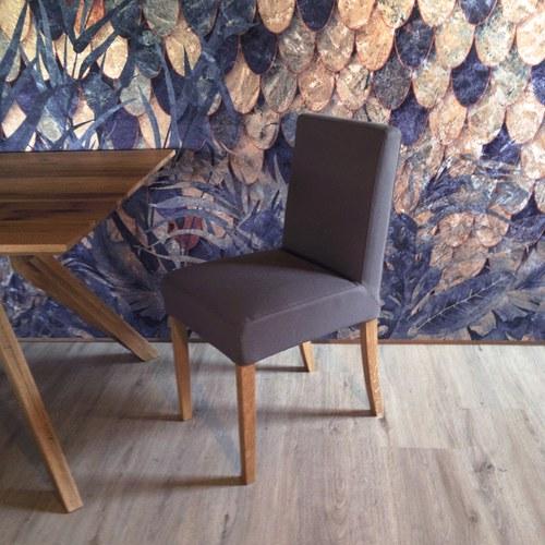 波蘭Sits 北歐餐館簡約L型單椅 (淺棕)