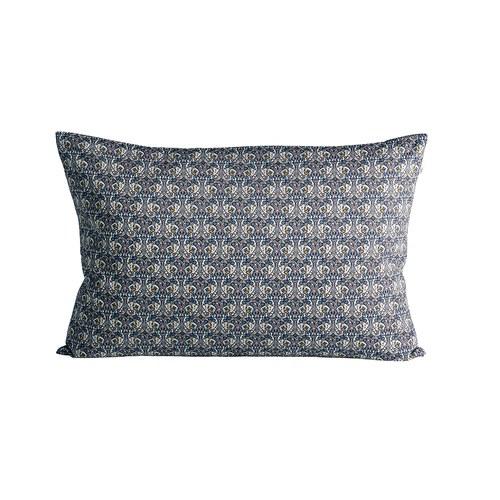 丹麥tineKhome 春漾蝴蝶圖紋長形靠枕 (藍、長60公分)