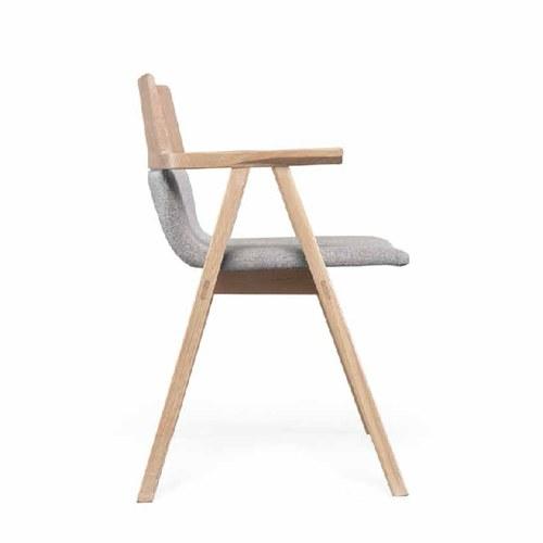 葡萄牙WEWOOD PENSIL橡木單人扶手椅 (灰)
