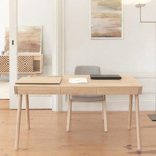 葡萄牙WEWOOD 多功能收納書桌 (橡木)