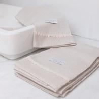法國LaMaison 花邊系列毛巾 (亞麻、長95公分)