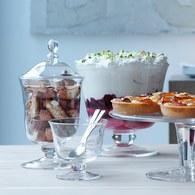 英國LSA 晶透玻璃派對點心杯 (高25公分)