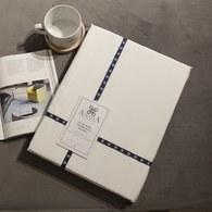 葡萄牙Amalia 埃及棉白色床包 ( 雙人標準、Especiarias 黃 )