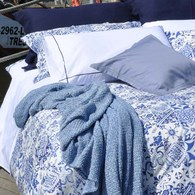 葡萄牙Amalia Pena雙人標準寢具組-素枕套(5x6.2尺)
