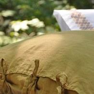 葡萄牙Amalia Especiarias雙人加大寢具組-黃花枕套(6x6.2尺)