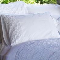葡萄牙Amalia Espirito雙人加大寢具組-半皺褶枕套(6x6.2尺)