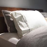 葡萄牙Amalia Cafe雙人加大寢具組-素枕套(6x6.2尺)