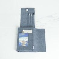 葡萄牙BUREL 筆記本款平板保護包 (牛仔藍)
