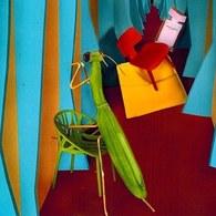 葡萄牙Mambo藝術擺飾 螳螂 (綠)