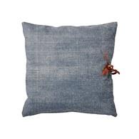 丹麥LeneBjerre 印染藍布綁帶抱枕