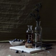 丹麥LeneBjerre 字母B玻璃瓶