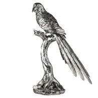 丹麥Lene Bjerre 鸚鵡藝術擺飾雕塑 (銀)