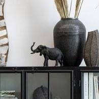 丹麥Lene Bjerre 大象藝術擺飾雕塑 (黑)