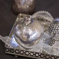 丹麥LeneBjerre 銀刻石榴果實飾品