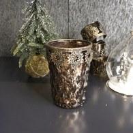 丹麥LeneBjerre 福音彌撒耶誕夜奉獻蠟燭台(黃銅霧金)