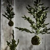丹麥LeneBjerre 垂掛式松針葉聖誕樹