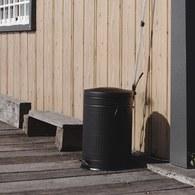 丹麥 Nordal 經典垃圾桶 (霧黑、20公升)