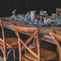 丹麥Nordal 歐風酒館線條單椅 (棕)