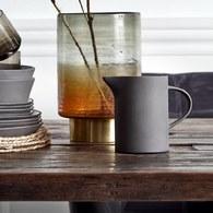 丹麥Nordal 仿石陶瓷水壺 (黑)