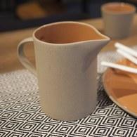 丹麥Nordal 仿石陶瓷水壺 (橘)