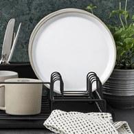 丹麥Nordal 仿石陶瓷餐盤 (米、直徑22公分)