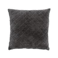 丹麥Nordal 經典格菱紋靠枕 (灰)