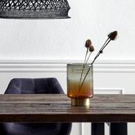 丹麥Nordal 落日暈影玻璃桌飾 (高20公分)