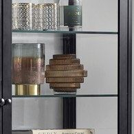 丹麥Nordal 羅馬柱藝術玻璃花器 (棕、高16公分)