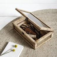 丹麥Nordal 鄉村編織收納盒
