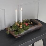 丹麥Nordal 鄉村質樸原木托盤