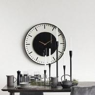 丹麥Nordal 仿車站圓形掛鐘 (直徑46公分)