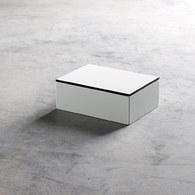 丹麥tineKhome 極簡風白色矩形首飾盒 (長18公分)