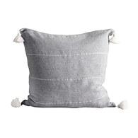 丹麥tineKhome 波希米亞風方形靠枕 (灰、長60公分)