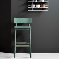 丹麥WOUD PauseBarStool高腳吧台椅 (綠)