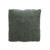 波蘭Sits 舒適布面方形靠枕 (深綠)