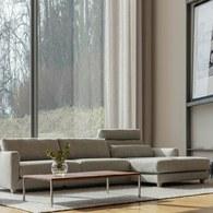 波蘭 Sits Nora遠眺的風景L型沙發